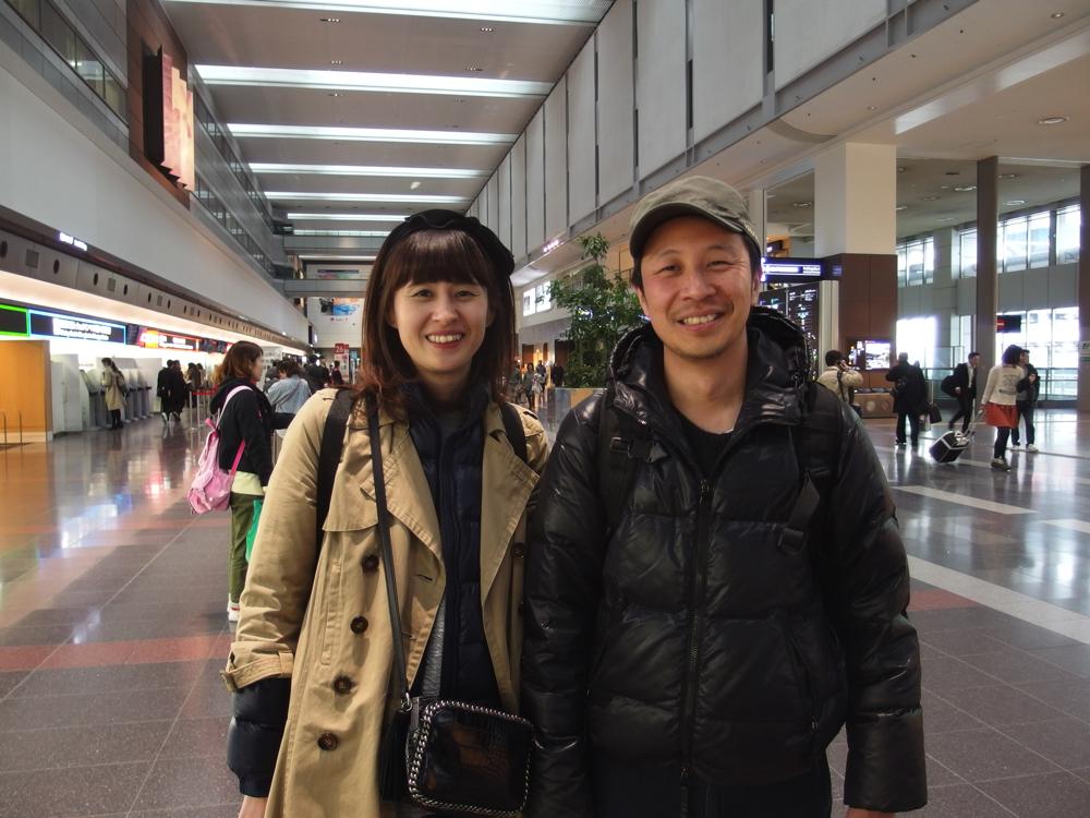 移住直前すぎる夫婦に空港インタビューしてみた